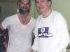 After a squash match with Senator Arlen Spector