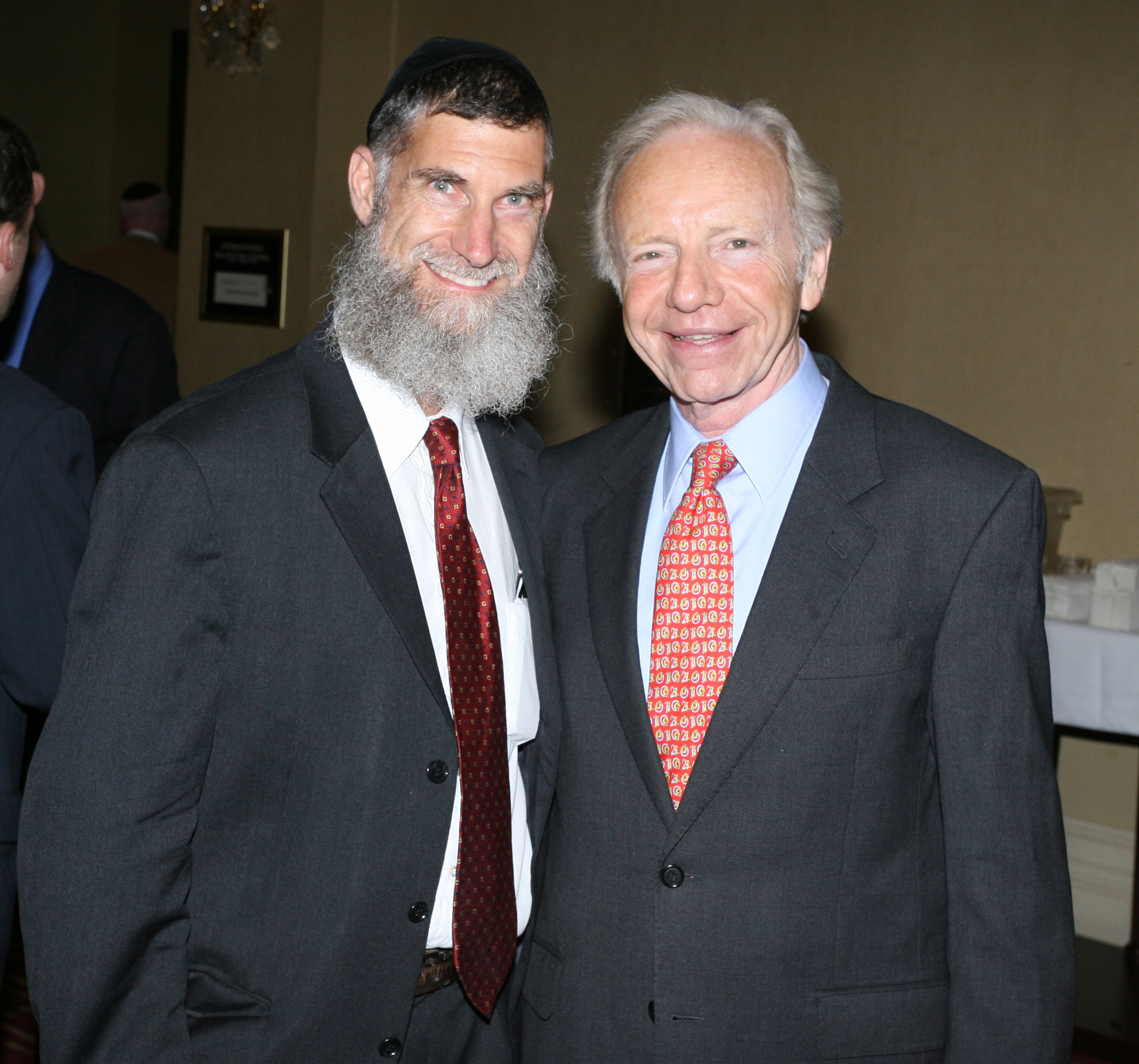 With Senator Joseph Lieberman
