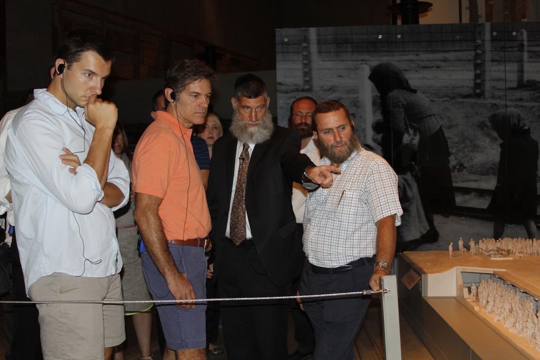 Dr. Mehmet Oz and Rabbi Schmuley Boteach