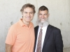Hanoch Teller with Dr. Mehmet Oz